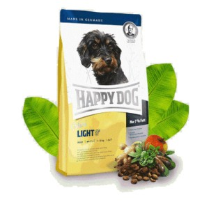 Croquettes light Happy Dog pour petit chien en surpoids