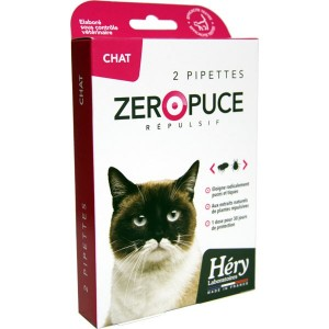 Pipette Zéro Puce Chat