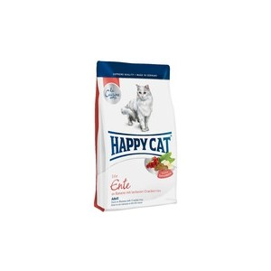 Croquettes happy Cat au canard pour chats sensibles